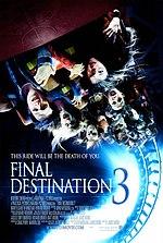 Постер Пункт призначення 3, Final Destination 3