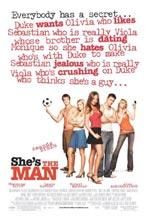 Постер Она - мужчина, She's the Man