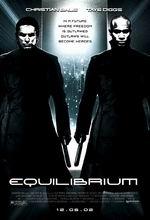 Постер Еквілібріум, Equilibrium