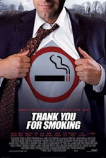 Постер Здесь курят, Thank You for Smoking