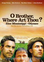 Постер О де ж ти, брат?, O Brother, Where Art Thou?