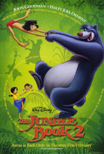 Постер Книга джунглів 2, Jungle Book 2