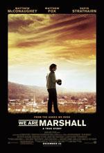 Постер Ми з Маршалл, We Are Marshall
