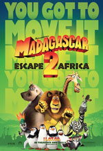 Постер Мадагаскар 2: Втеча до Африки, Madagascar: Escape 2 Africa