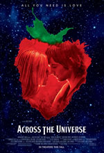 Постер Через вселенную, Across the Universe