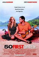 Постер 50 первых поцелуев, 50 First Dates