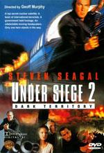 Постер В облозі 2: Темна територія, Under Siege 2: Dark Territory