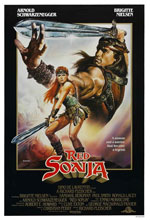 Постер Руда Соня, Red Sonja