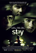 Постер Залишись, Stay