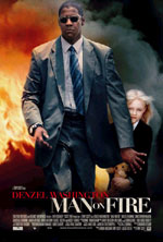 Постер Гнів, Man on Fire