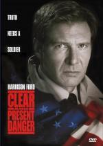 Постер Пряма і явна загроза, Clear and Present Danger