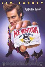 Постер Эйс Вентура: Розиск домашних животных, Ace Ventura: Pet Detective