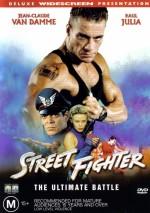Постер Вуличний боєць, Street Fighter