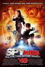 Постер Діти шпигунів 4D, Spy Kids 4: All the Time in the World in 4D