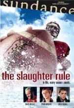 Постер Закон бійні, Slaughter Rule, The