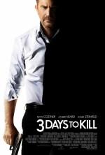 Постер Три дня на убийство, Three Days to Kill