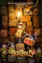 Постер Сімейка монстрів , The Boxtrolls