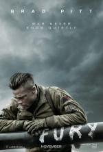 Постер Лють, Fury
