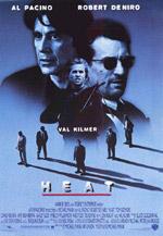 Постер Схватка, Heat