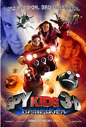 Постер Дети шпионов 3: Игра окончена, SPY Kids 3-D: Game Over