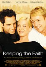Постер Зберігаючи віру, Keeping the Faith