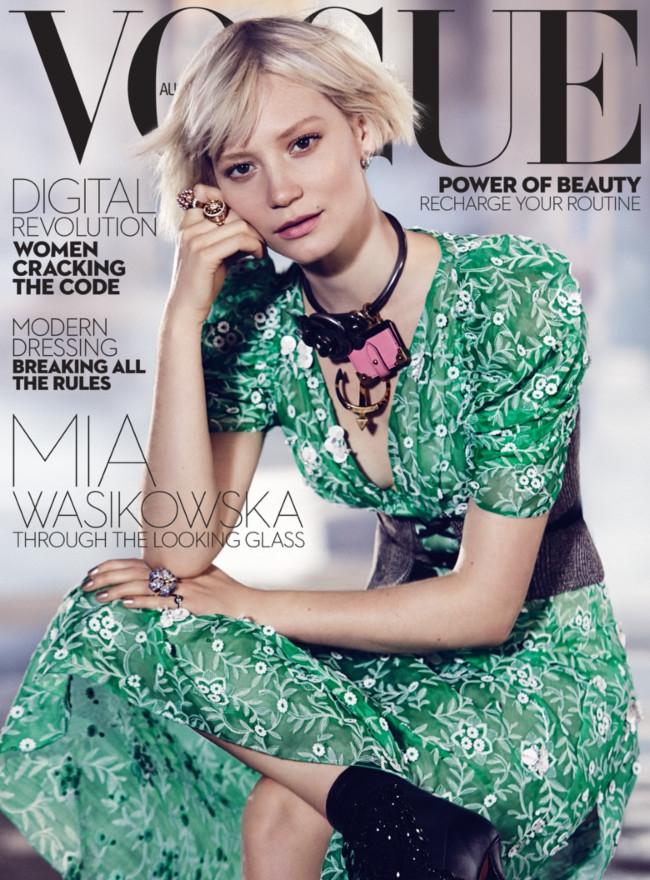Миа Васиковска для журнала Vogue (ФОТО)