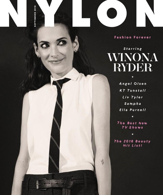 Нова фотосесія Вайнони Райдер для Nylon (ФОТО)