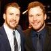 Крис Эванс и Крис Прэтт стали самыми прибыльными актерами года