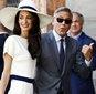 Джордж и Амаль Клуни впервые вышли на свидание (ФОТО)