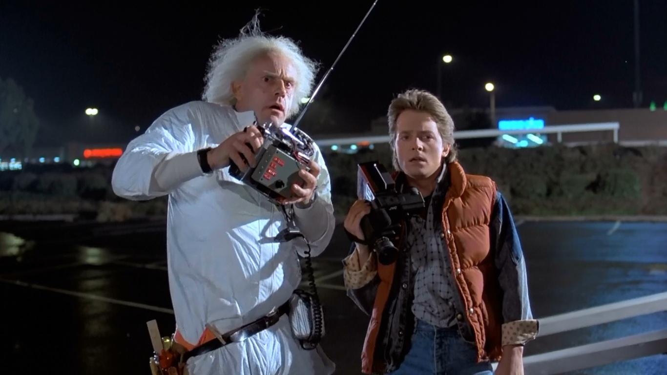 картинки из фильма назад в будущее